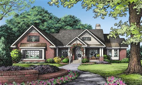 small brick house plans 2 story house one story brick ranch house plans small