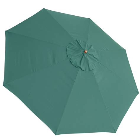 patio umbrella replacement canopy 13 ft patio market umbrella replacement canopy green