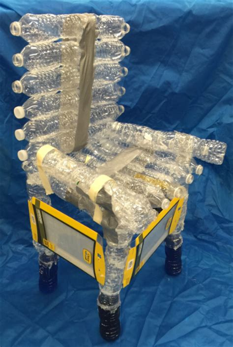 what are water made out of vets middle school students turn recyclables into