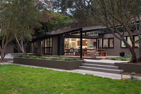 mid century modern mid century modern remodel in california opens up