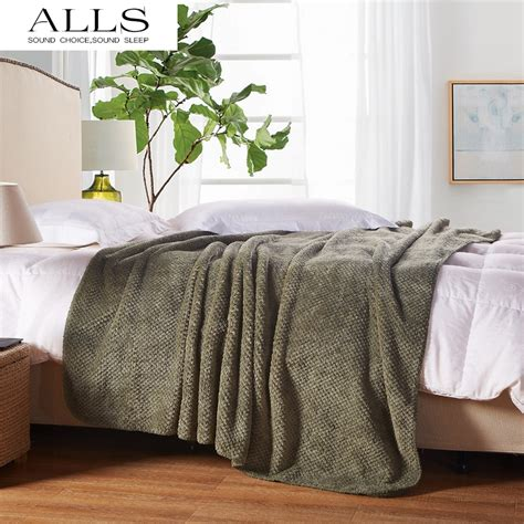 bed blankets aliexpress buy japanese style blanket on bed sofa
