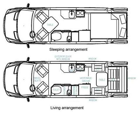 type b motorhome floor plans roadtrek ss ideal class b motorhome floorplans large picture