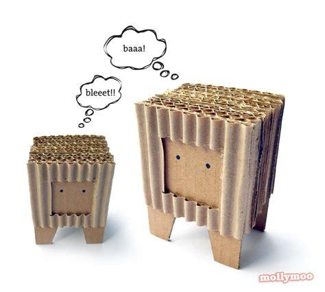 cardboard crafts for mollymoocrafts make cardboard craft