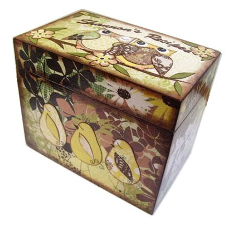 decoupage cardboard boxes decoupage arts crafts and design finds