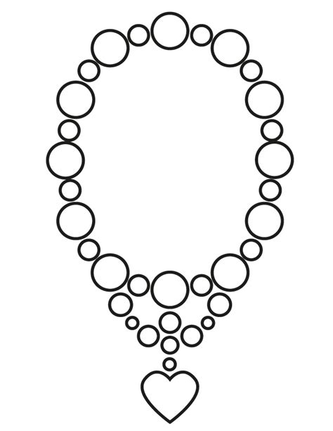 picture pendants jewelry wedding necklace free printable coloring pages