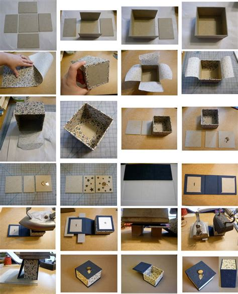 boxes to make 25 best ideas about diy trinket box on diy