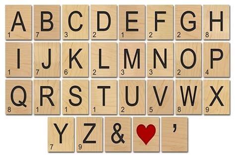 25 Beste Idee 235 N Scrabble Muur Op