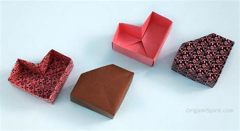how to make a shaped box origami how to make a square origami box and lid masu box