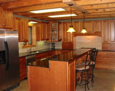 cabin kitchen designs log home kitchens everything log homes