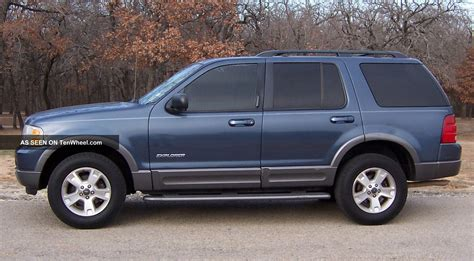 Ford Explorer Rims by 2002 Ford Explorer Xlt Rims