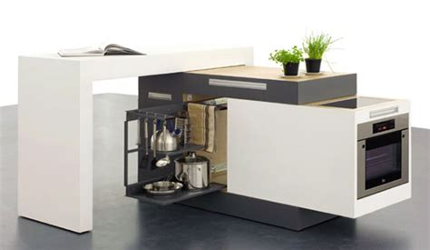 portable kitchen cabinets for small apartments clever compact kitchen for small apartments freshome