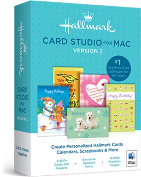 card software for mac hallmark card studio for mac 2 greeting card software
