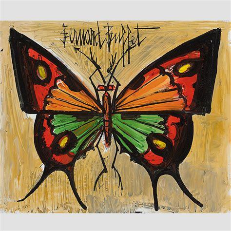 bernard buffet paintings bernard buffet papillon 1959 galerie de souzy
