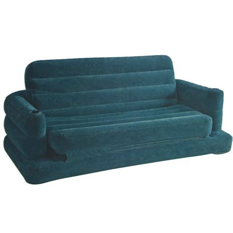 intex air sofa bed intex pull out sofa air bed