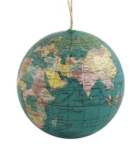 globe ornaments ornaments buy blue earth globe
