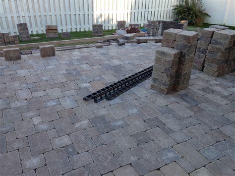 paver patio installation cost paver patio installation