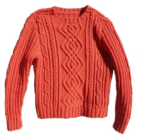 sweater knit meandering cables sweater by live knit craftsy
