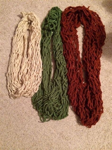 Diy Arm Knit Infinity Scarves So Easy Tip Don T Use