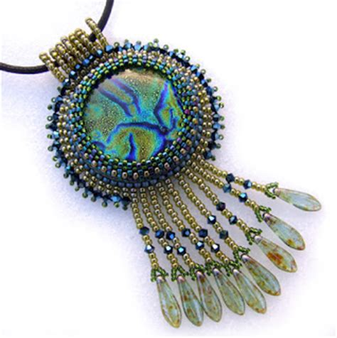 free bead embroidery around the beading table new free beading pattern links