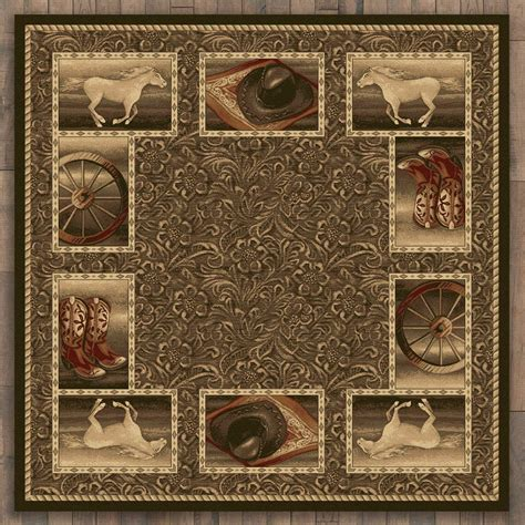 8 ft rugs western home rug 8 ft square