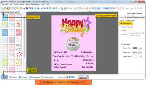 greeting cards software birthday card maker software create birthday