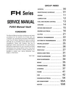 how to download repair manuals 1988 mitsubishi truck electronic valve timing 1992 1995 mitsubishi fuso fh100 truck service manual pdf download