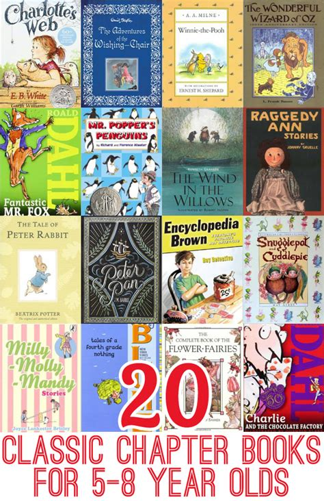 picture books for 8 year olds 20 classic chapter books to read with 5 8 year olds