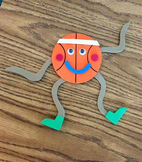 sports themed crafts for 25 best ideas about basketball crafts on