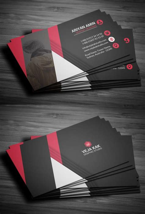 how to make a professional business card 17 best ideas about business card software on