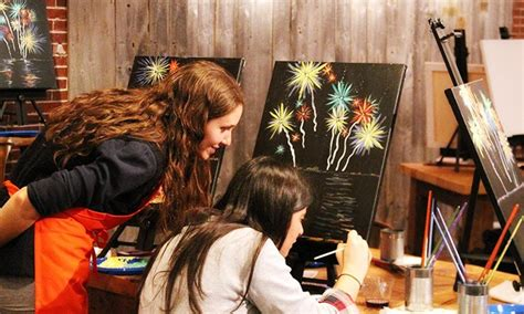 muse paintbar portland maine muse paintbar portland me deal of the day groupon