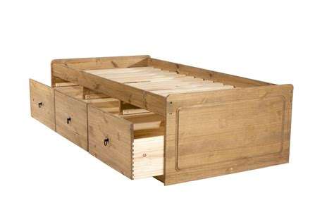 pine bed with drawers present daze furniture gifts