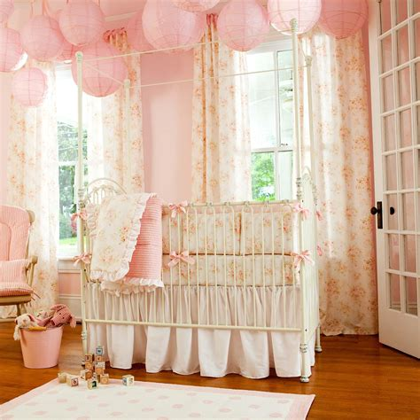 baby bedding collections shabby chenille crib bedding pink floral baby crib