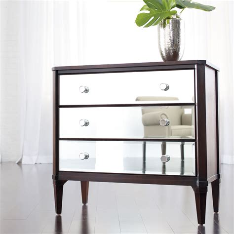 cheap mirrored bedroom furniture mirror bedside table cheap hayworth nightstand mirror