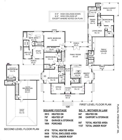 house plans with inlaw quarters 31 best images about house designs with inlaw quarters on house plans apartment