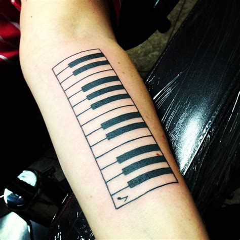 piano tattoos and designs page 4