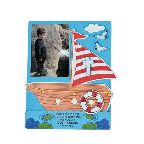 faith craft for faith adventure picture frame craft kit photo crafts
