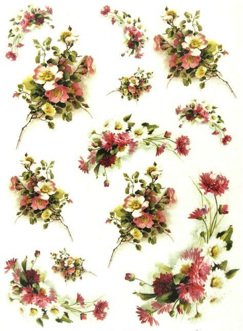 decoupage paper flowers 735 best images about decoupage kwiaty on