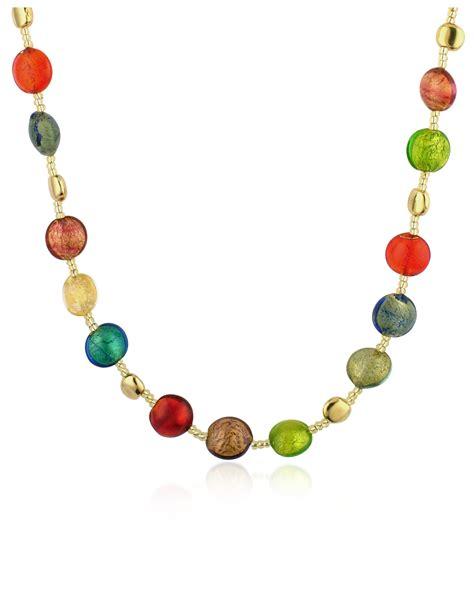 murano glass bead necklace antica murrina frida murano glass bead necklace lyst