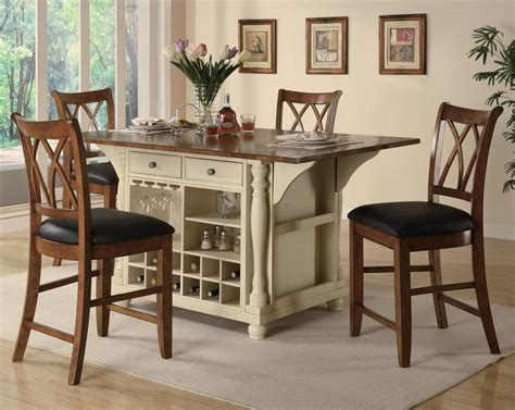 kitchen island table with chairs buttermilk and cherry kitchen island