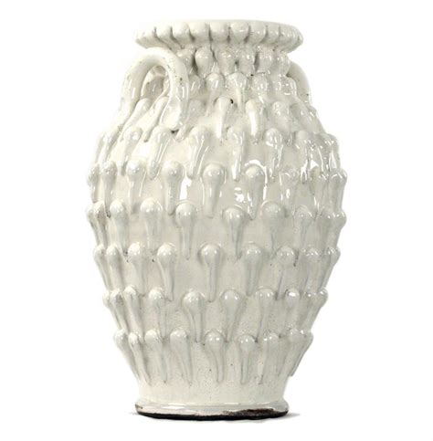 white ceramic urn white ceramic coastal style large textured urn