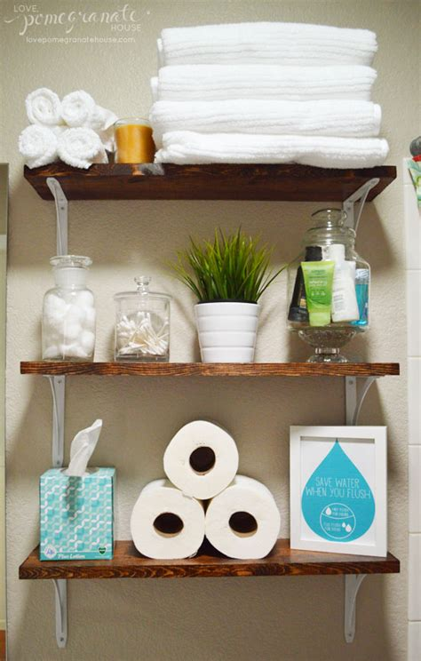 bathroom shelves home depot bathroom shelves everything to make them is from home