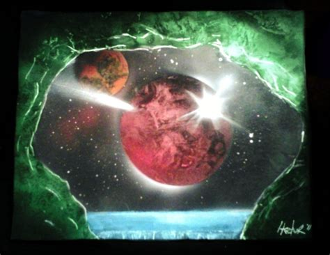 spray paint space spray paint space cave by hectorr94 on deviantart