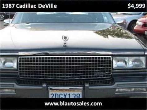 Cadillac Santa Rosa by 1987 Cadillac Used Cars Santa Rosa Ca