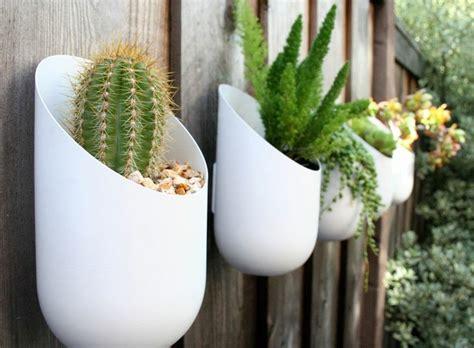wall mounted garden pots wall mount aluminum planters