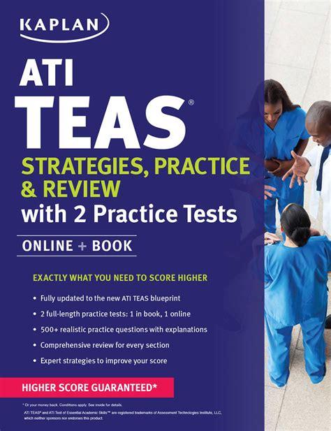 ati teas strategies practice review with 2 practice