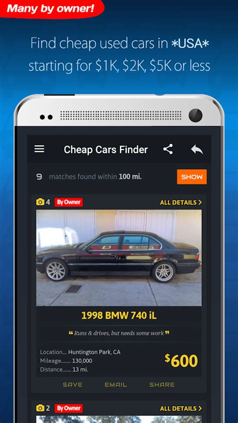 Used Car Apps by Cheap Cars For Sale Autopten Android Apps On Play