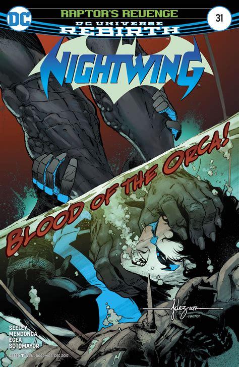 nightwing vol 4 blockbuster rebirth nightwing dc universe rebirth miguel mendonca fresh comics