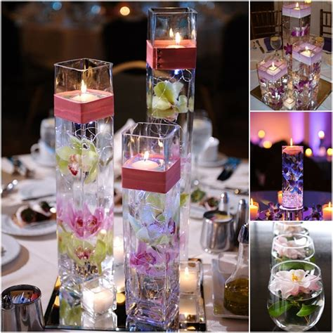 how to make centerpieces diy floating candle centerpiece ideas