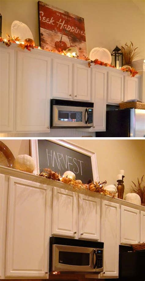 kitchen cabinet decorating ideas 20 stylish and budget friendly ways to decorate above