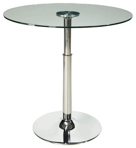 glass top pedestal dining room tables standard furniture cosmo glass top dining table with